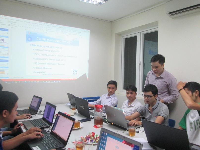 Học lập trình ASP.NET cùng chuyên gia tại hà nội