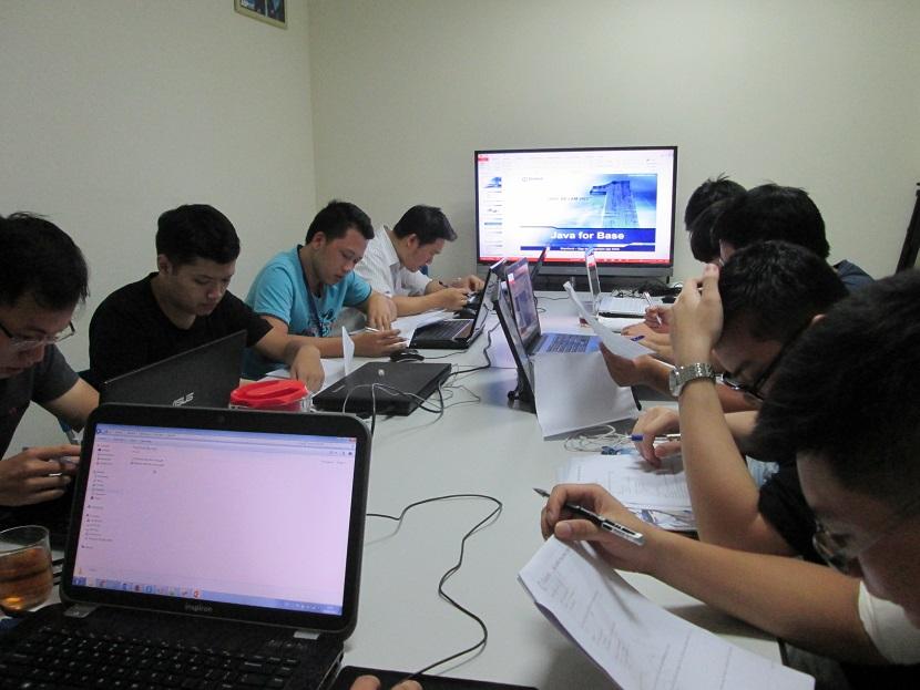 Bắt đầu học lập trình Java ở hà nội