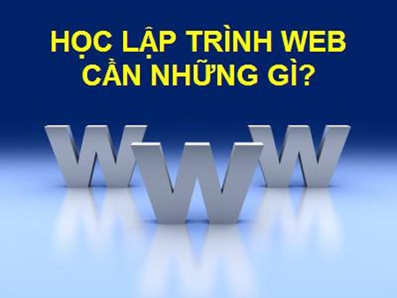 Hướng dẫn học lập trình web hiệu quả